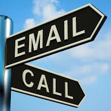 Email, Call or Lunch?